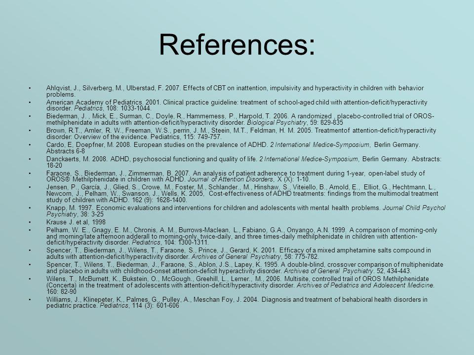References: Ahlqvist, J., Silverberg, M., Ulberstad, F.