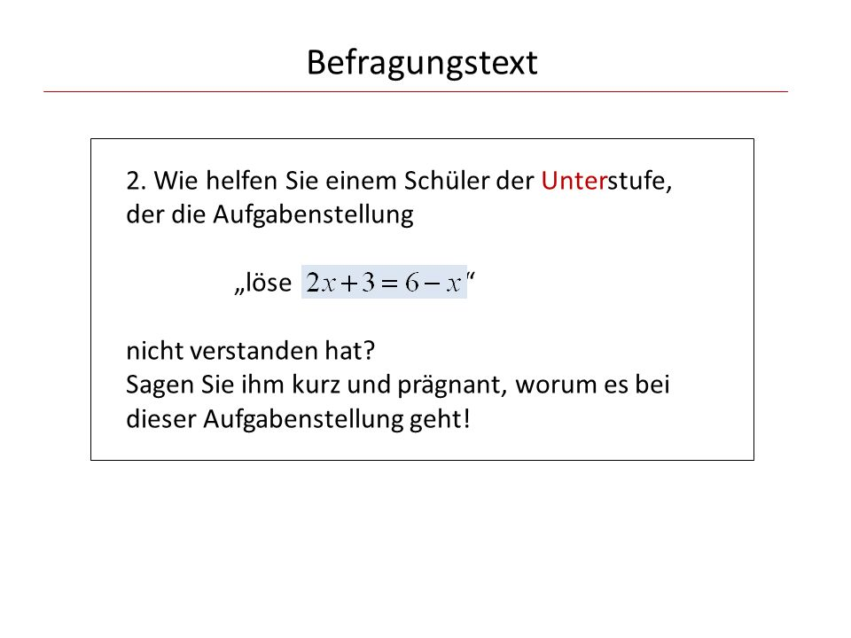 Befragungstext 2.