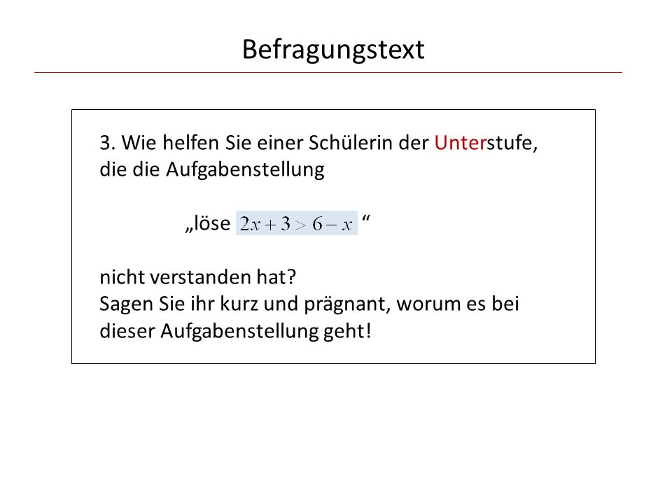 Befragungstext 3.