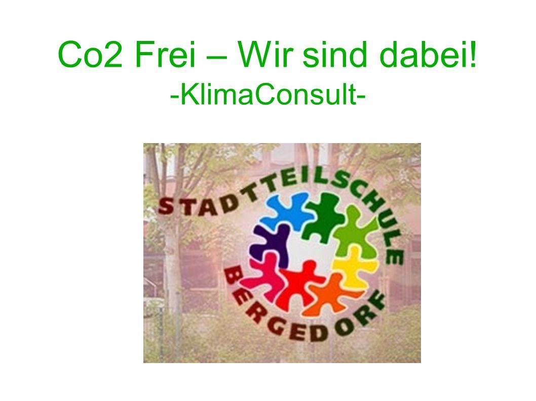 Co2 Frei – Wir sind dabei! -KlimaConsult-