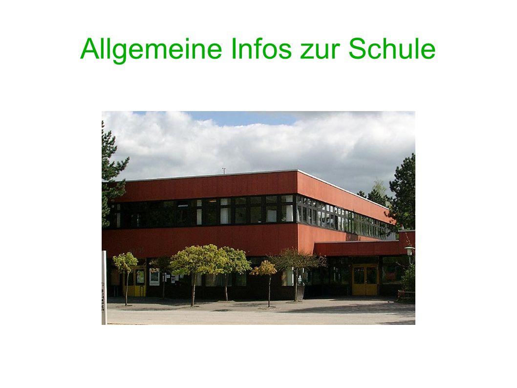 Allgemeine Infos zur Schule