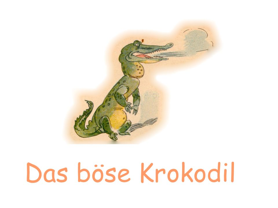 Das böse Krokodil Text und Zeichnungen von Heiner Rothfuchs ___________________________________________________________ Sonnen – Verlag Josef Wiroth