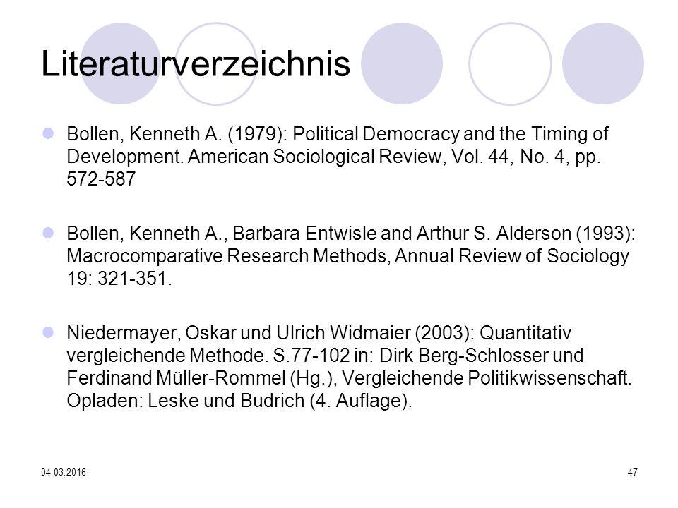 04.03.201647 Literaturverzeichnis Bollen, Kenneth A.