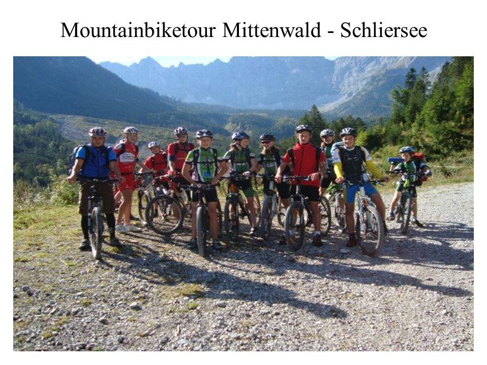 Mountainbiketour Mittenwald - Schliersee
