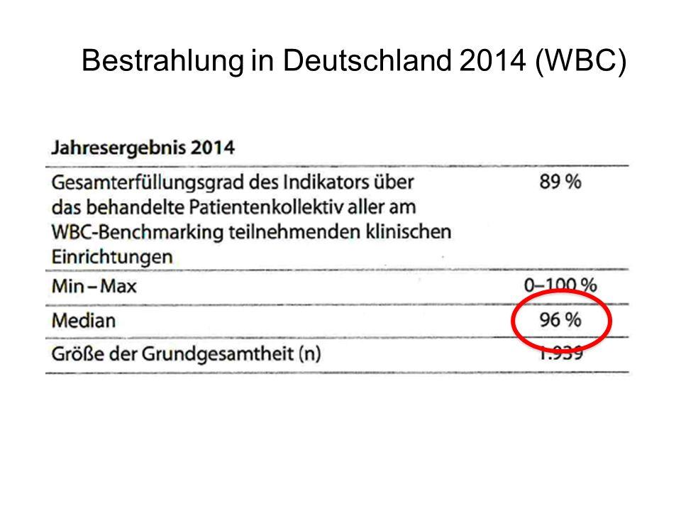 Bestrahlung in Deutschland 2014 (WBC)