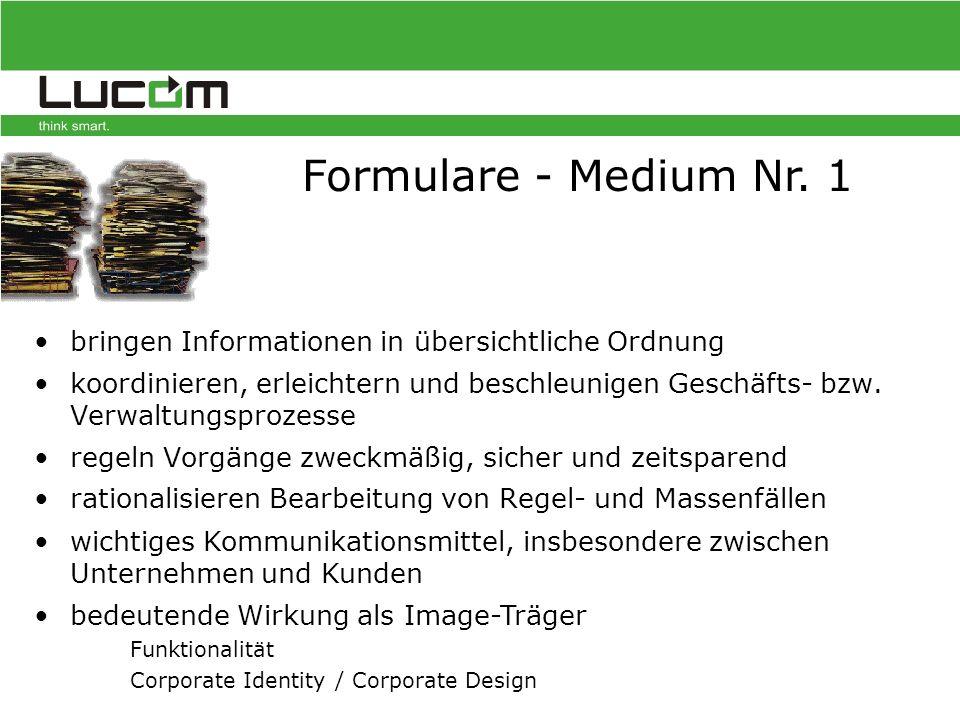 Integration des Input-Management Systems FormsForWeb ®