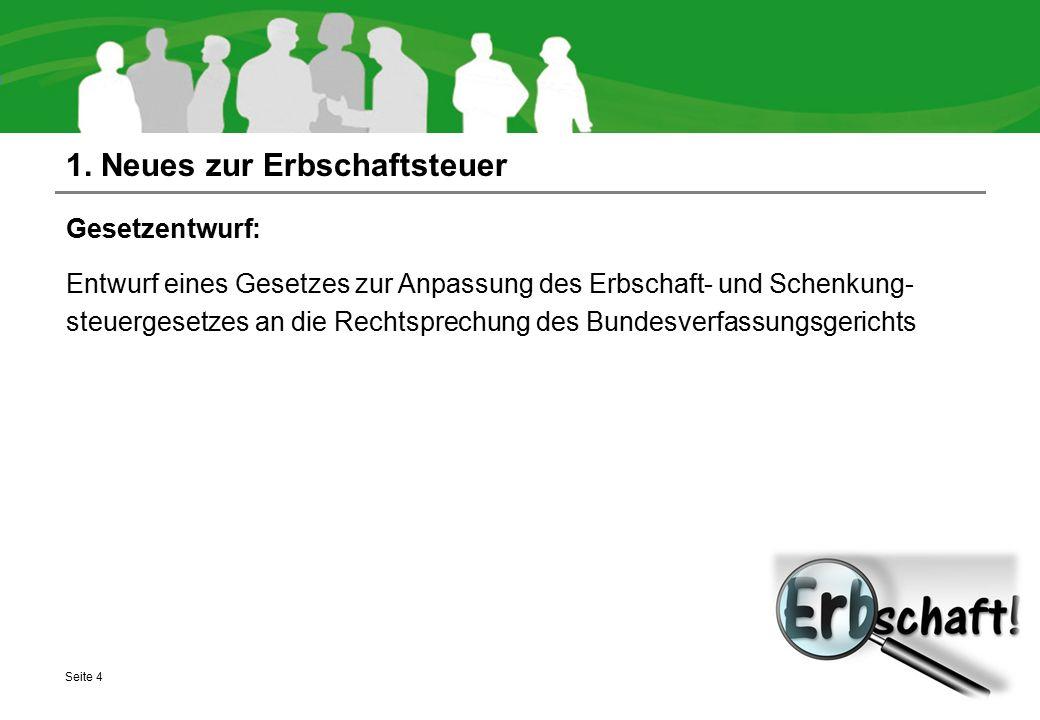 5.3 Neues zu Grunderwerbsteuer und Grundsteuer Grunderwerbsteuer: Voraussichtlich keine Erhöhung.