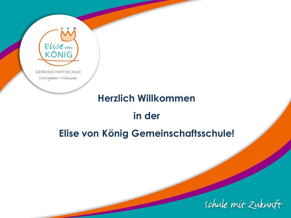 Herzlich Willkommen in der Elise von König Gemeinschaftsschule!