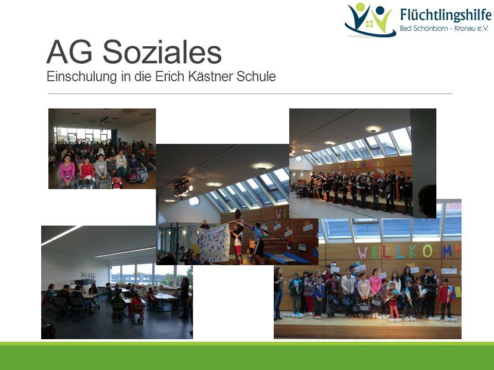 AG Soziales Einschulung in die Erich Kästner Schule