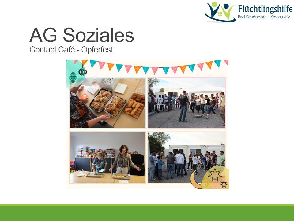 AG Soziales Contact Café - Opferfest