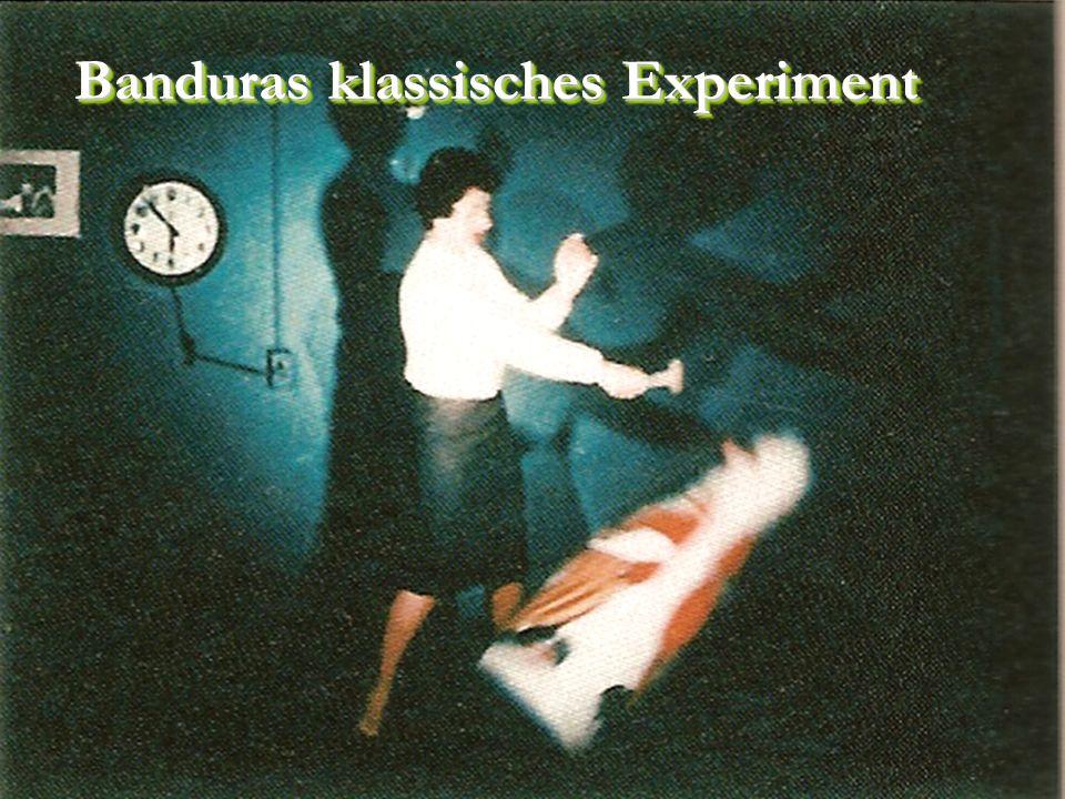 Banduras klassisches Experiment