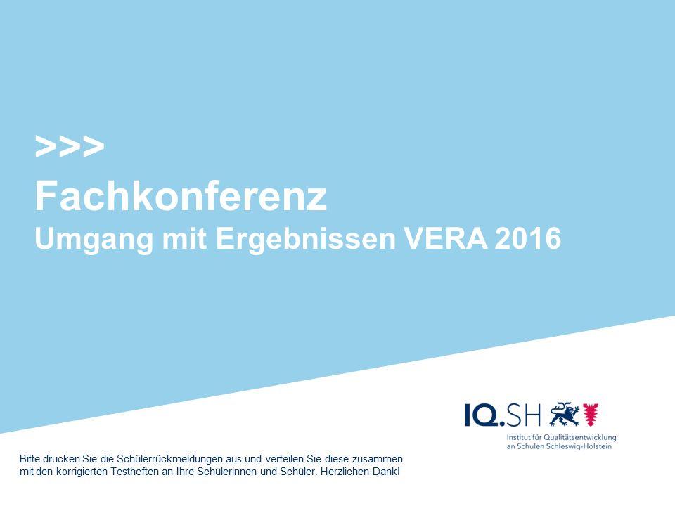 Die Fachkonferenz (Vorlage zum Umgang mit VERA) Leitfrage: Welche Aufgabenformate sollten wir in unserem Fachunterricht stärken.