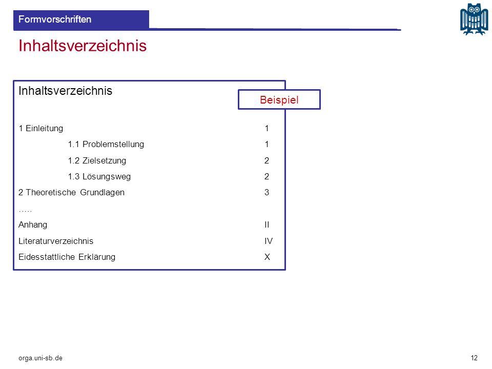 Inhaltsverzeichnis 1 Einleitung1 1.1 Problemstellung1 1.2 Zielsetzung2 1.3 Lösungsweg2 2 Theoretische Grundlagen3 ….. AnhangII LiteraturverzeichnisIV