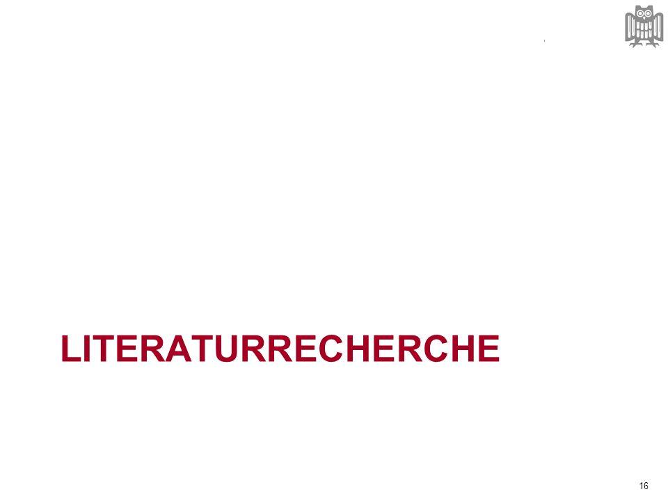 Suchstrategien orga.uni-sb.de 1.Wer sind die zentralen Autoren meines Themas.