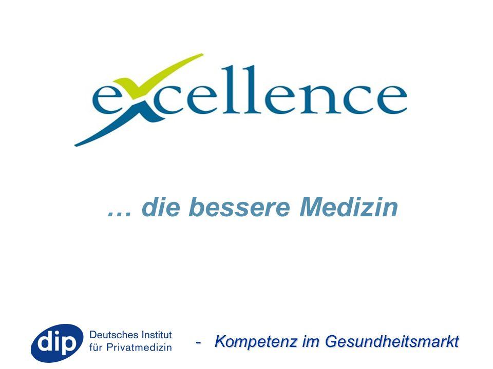 - Kompetenz im Gesundheitsmarkt … die bessere Medizin
