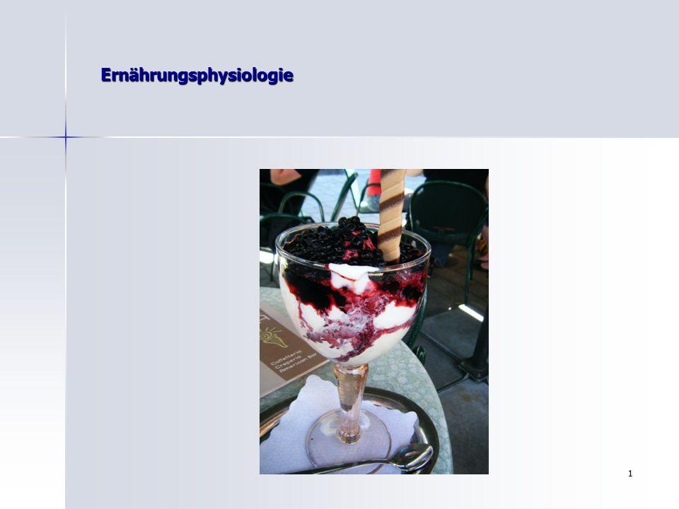 11 Ernährungsphysiologie Auswertung von Nährstoffen zur Bildung von Energieträger (ATP)