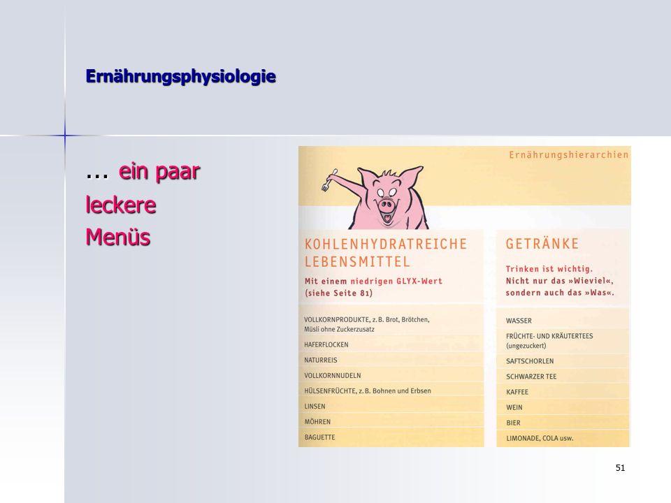 50 Ernährungsphysiologie MeineVorschläge….