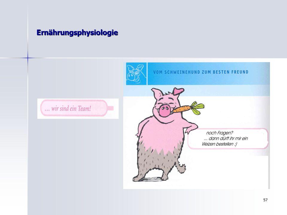 56 Ernährungsphysiologie …dann klappts auch wieder mit….