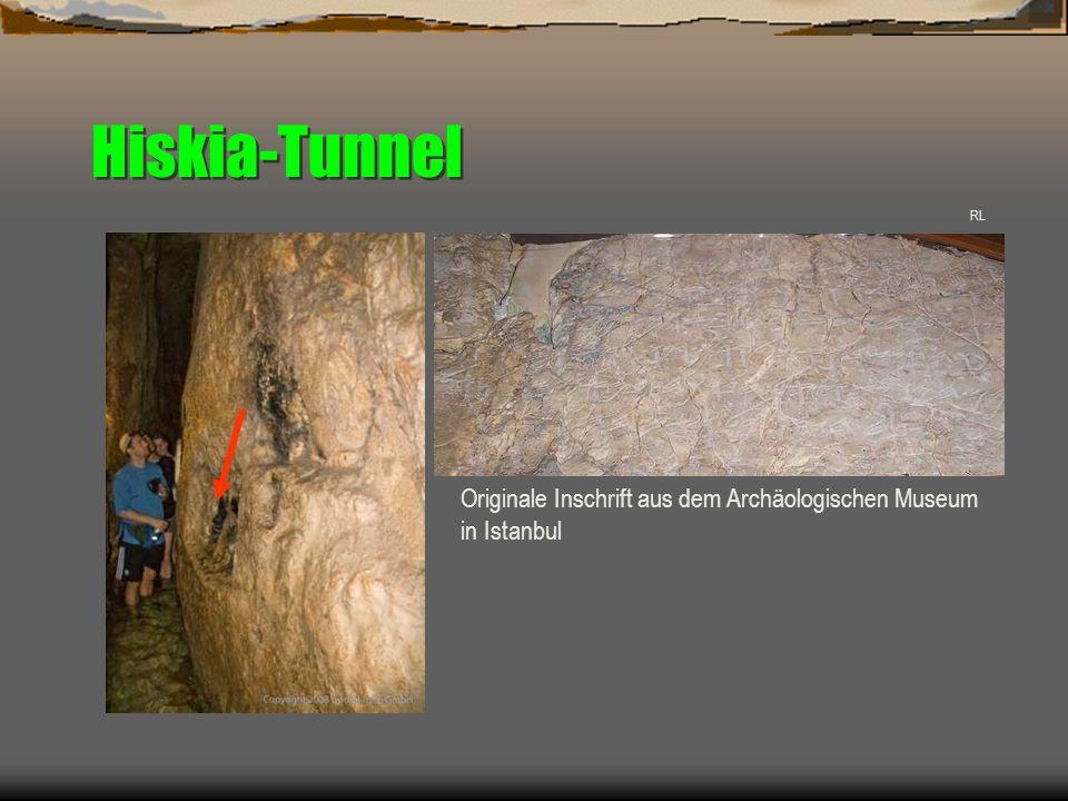RL Originale Inschrift aus dem Archäologischen Museum in Istanbul