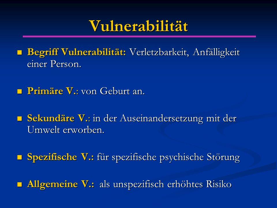 Vulnerabilität Begriff Vulnerabilität: Verletzbarkeit, Anfälligkeit einer Person. Begriff Vulnerabilität: Verletzbarkeit, Anfälligkeit einer Person. P
