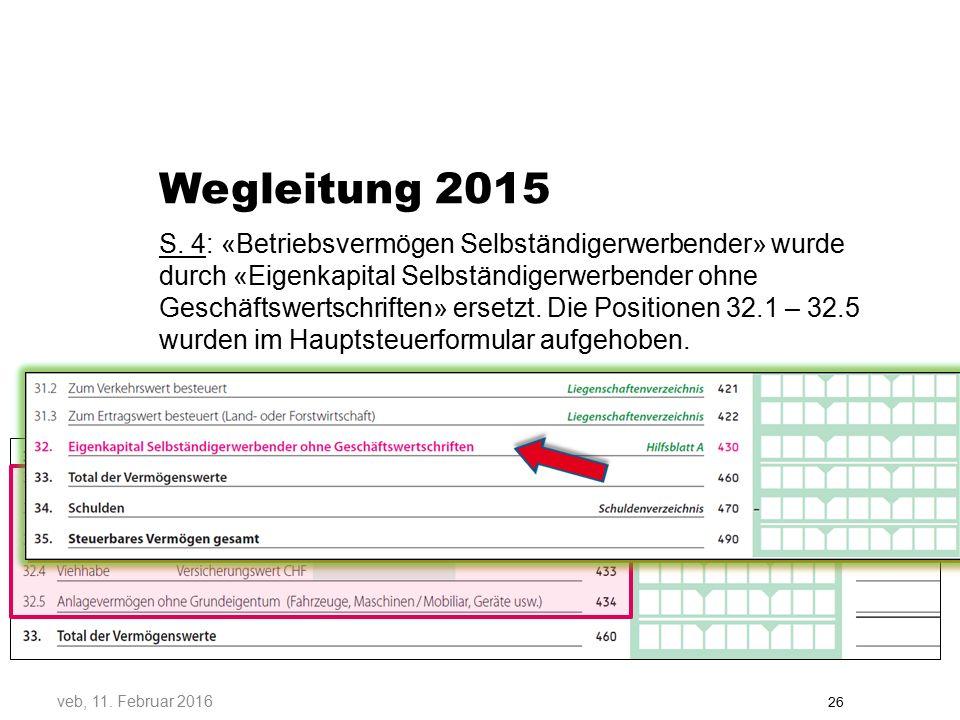 Wegleitung 2015 S.