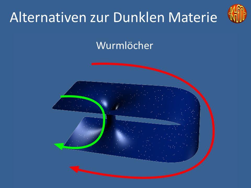 Wurmlöcher Alternativen zur Dunklen Materie