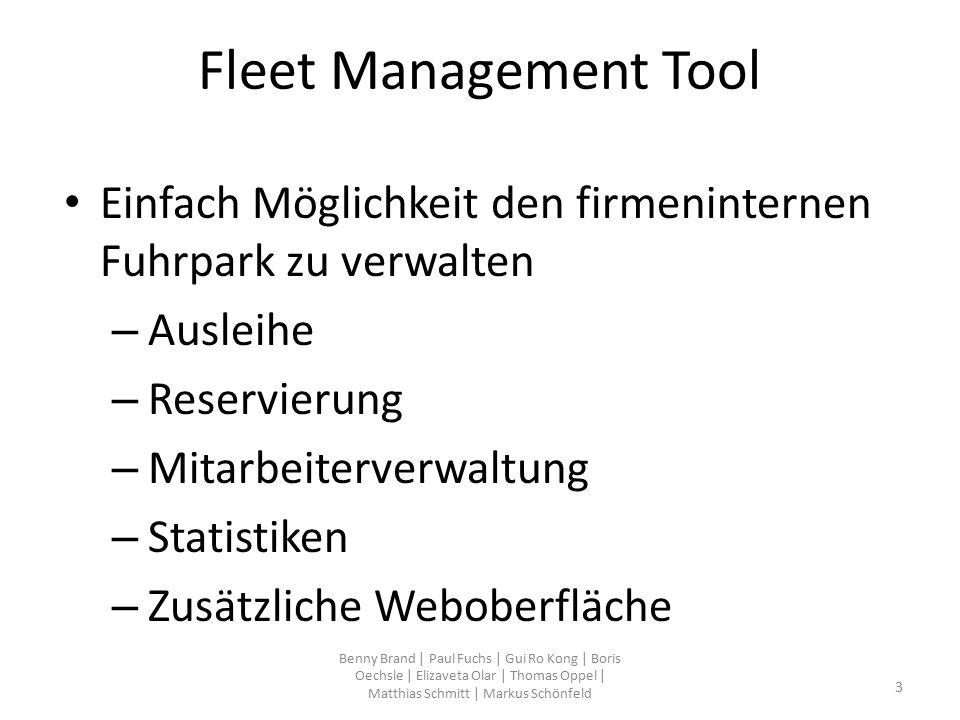 package com.hsulm.wf5.fleetmanagement.view.ExportPDFFrame.java ActionListener exp = new ActionListener() { @Override public void actionPerformed( ActionEvent e ) { if(FahrzeugeIsActive()) { MainGUI.getInstance().getTable_2().createPDF(); } if(ReservierungenIsActive()){ MainGUI.getInstance().getTable_3().createPDF(); } if(MitarbeiterIsActive()) { MainGUI.getInstance().getTable_4().createPDF(); } if(TopFuenfIsActive()) { erstelleMitarbeiterKMPDF(); } if(ReservierteFahrzeugeIsActive()) { erstelleFahrzeugeReserviertPDF(); } if(AlleIsActive()) { MainGUI.getInstance().getTable_2().createPDF(); MainGUI.getInstance().getTable_3().createPDF(); erstelleMitarbeiterKMPDF(); erstelleFahrzeugeReserviertPDF(); } }}; Benny Brand   Paul Fuchs   Gui Ro Kong   Boris Oechsle   Elizaveta Olar   Thomas Oppel   Matthias Schmitt   Markus Schönfeld 54