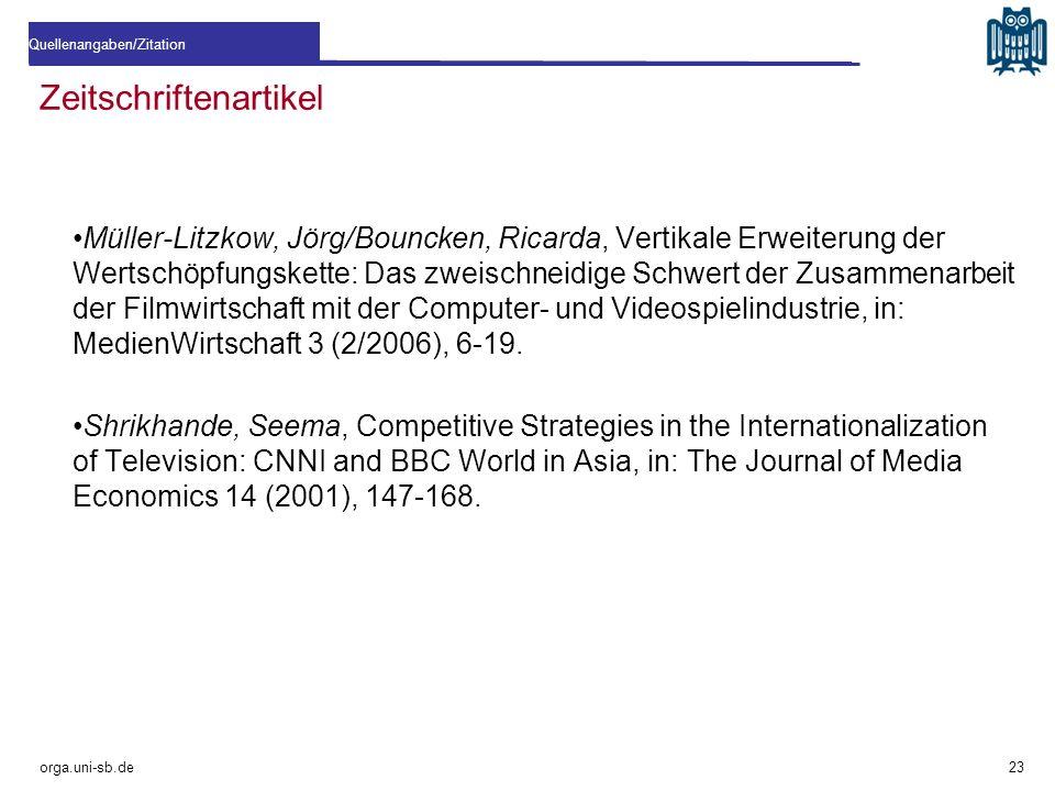 Zeitschriftenartikel Müller-Litzkow, Jörg/Bouncken, Ricarda, Vertikale Erweiterung der Wertschöpfungskette: Das zweischneidige Schwert der Zusammenarb