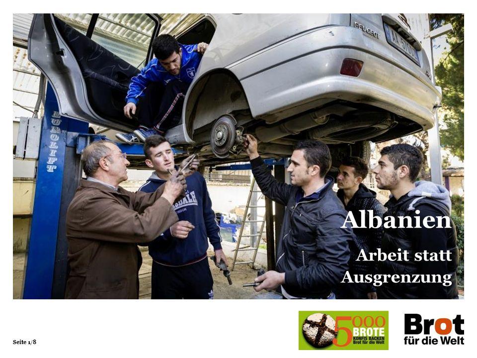 Seite 1/8 Albanien Arbeit statt Ausgrenzung