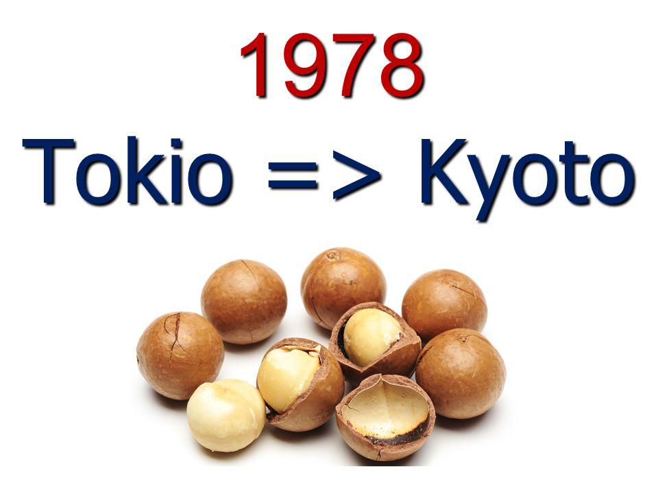 1978 Tokio => Kyoto