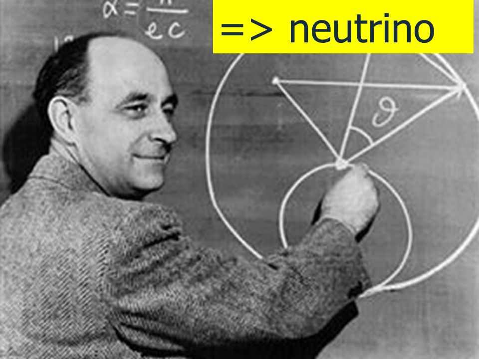 => neutrino