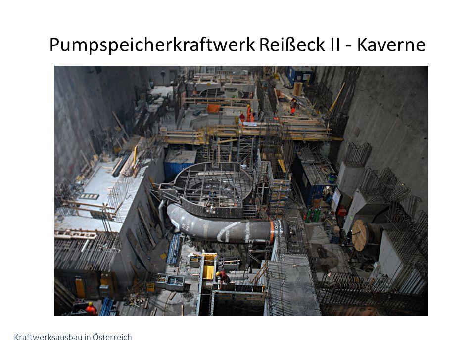 Pumpspeicherkraftwerk Reißeck II - Kaverne Kraftwerksausbau in Österreich