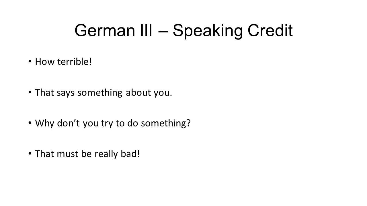 German III and IV - Journal Was ist Ihre Lieblingsfarbe und warum?