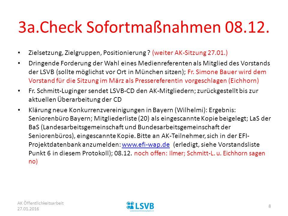 3a.Check Sofortmaßnahmen 08.12.Zielsetzung, Zielgruppen, Positionierung .