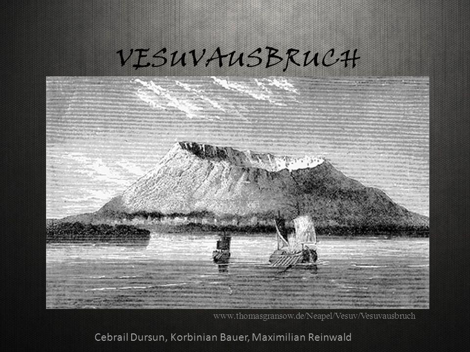 VESUVAUSBRUCH www.thomasgransow.de/Neapel/Vesuv/Vesuvausbruch Cebrail Dursun, Korbinian Bauer, Maximilian Reinwald
