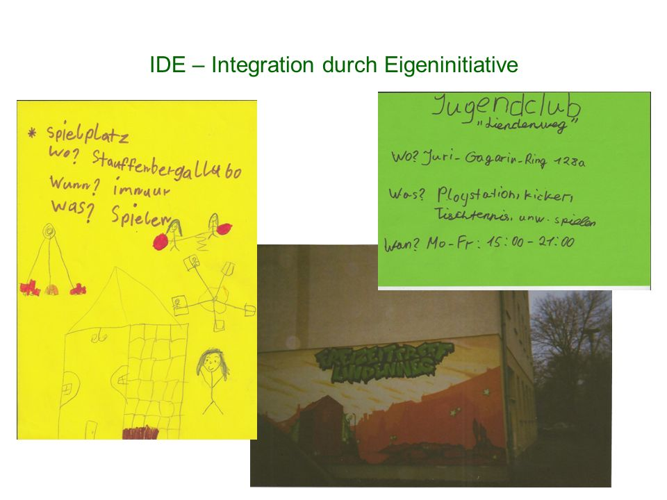 IDE – Integration durch Eigeninitiative
