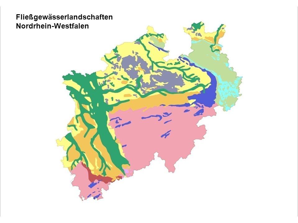 Fließgewässerlandschaften Nordrhein-Westfalen