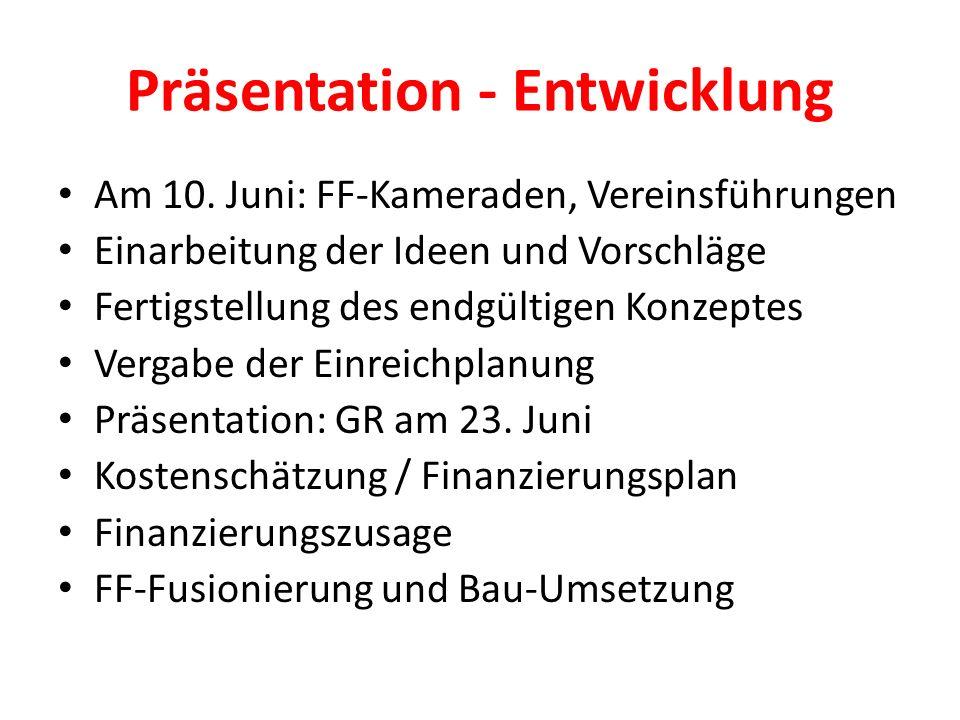 Präsentation - Entwicklung Am 10.