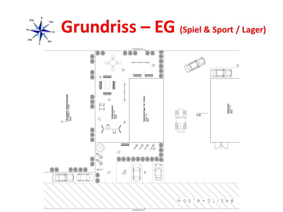 Grundriss – EG (Spiel & Sport / Lager)
