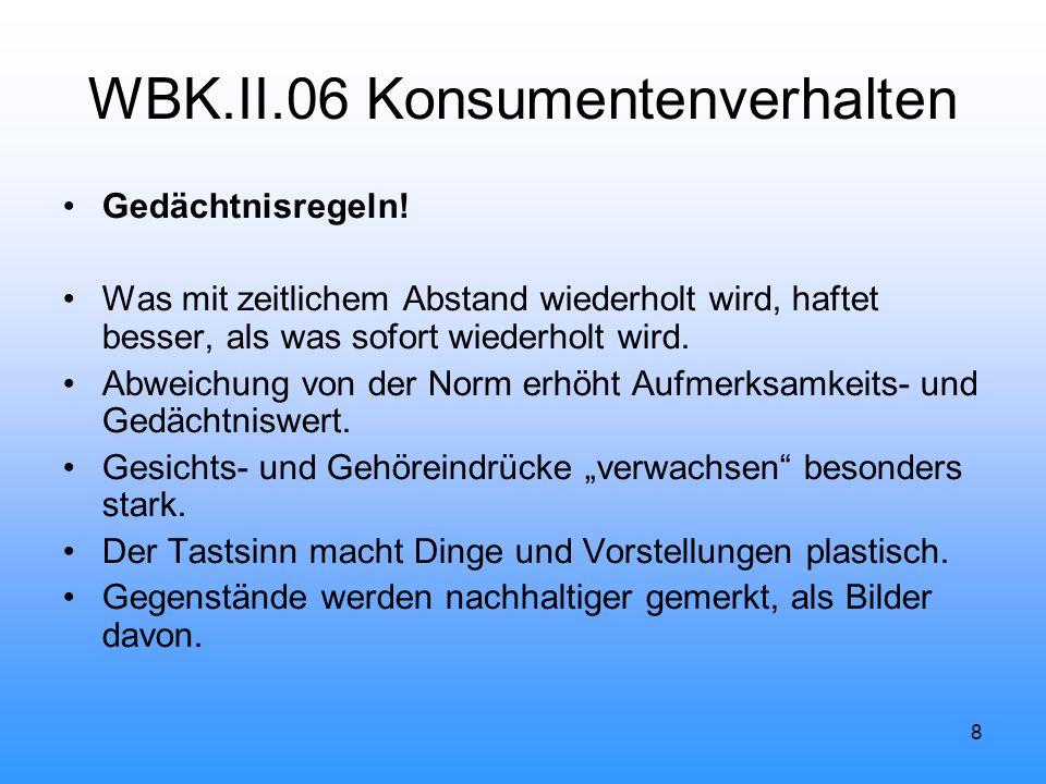 8 WBK.II.06 Konsumentenverhalten Gedächtnisregeln.