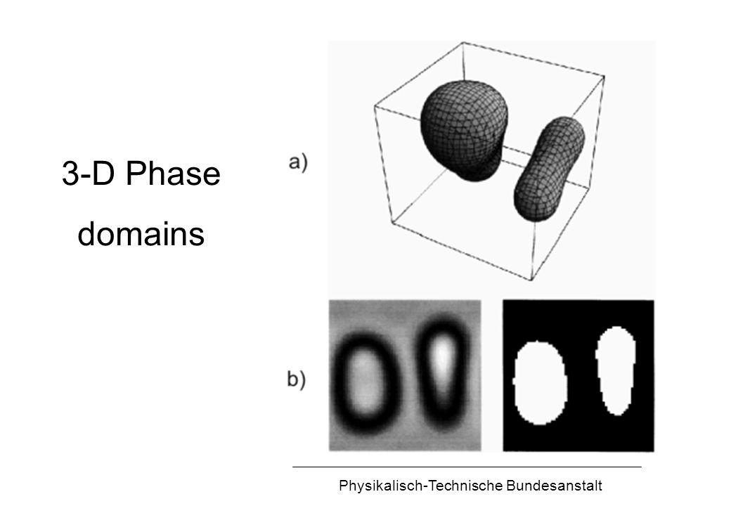 Physikalisch-Technische Bundesanstalt 3-D Phase domains