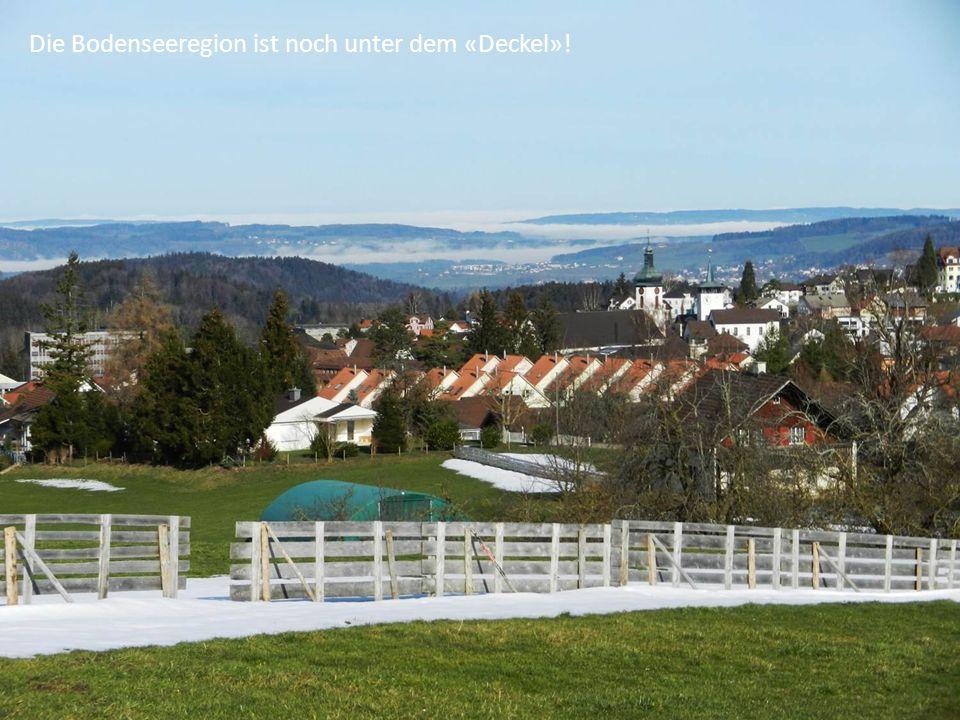 Die Bodenseeregion ist noch unter dem «Deckel»!