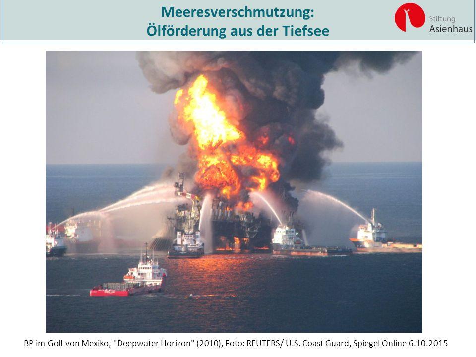 Meeresverschmutzung: Ölförderung aus der Tiefsee BP im Golf von Mexiko,