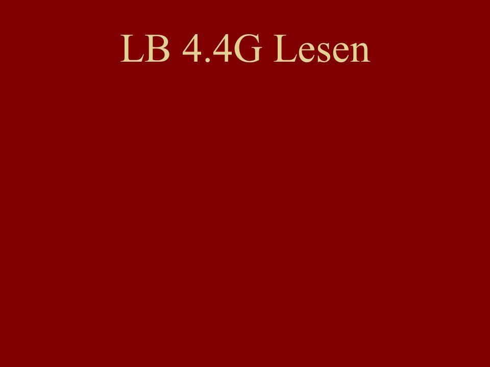 LB 4.4G Lesen