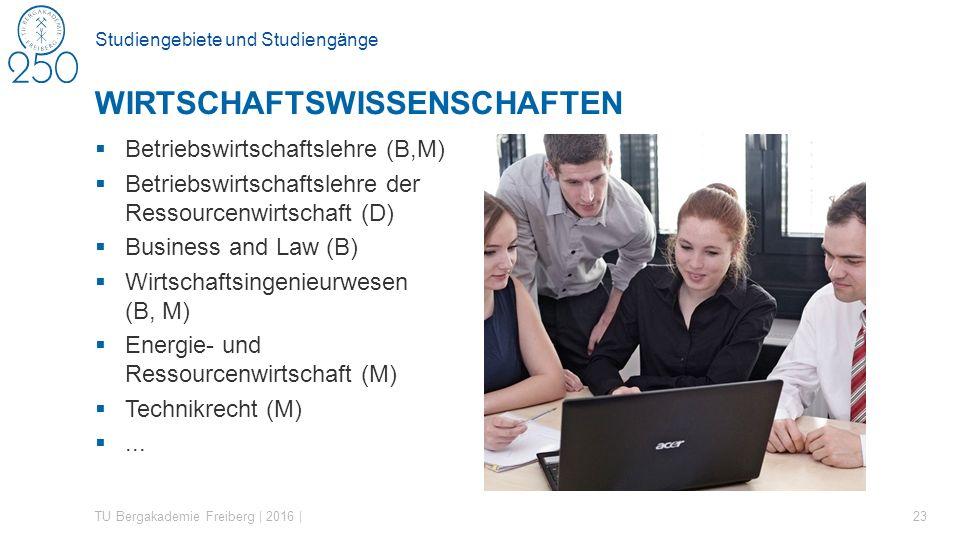 Studiengebiete und Studiengänge  Betriebswirtschaftslehre (B,M)  Betriebswirtschaftslehre der Ressourcenwirtschaft (D)  Business and Law (B)  Wirt