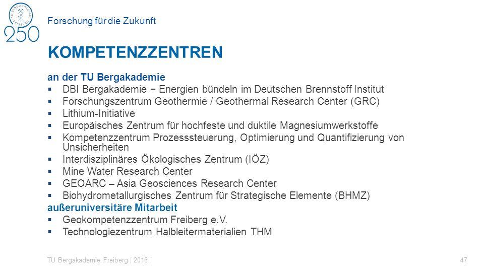 Forschung für die Zukunft an der TU Bergakademie  DBI Bergakademie − Energien bündeln im Deutschen Brennstoff Institut  Forschungszentrum Geothermie