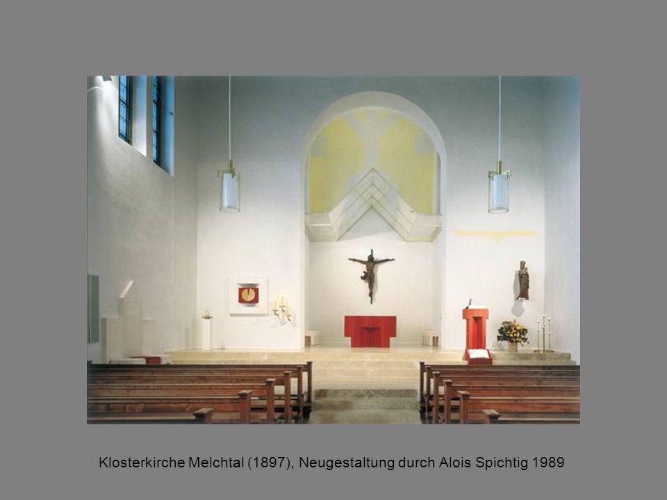 Klosterkirche Melchtal (1897), Neugestaltung durch Alois Spichtig 1989