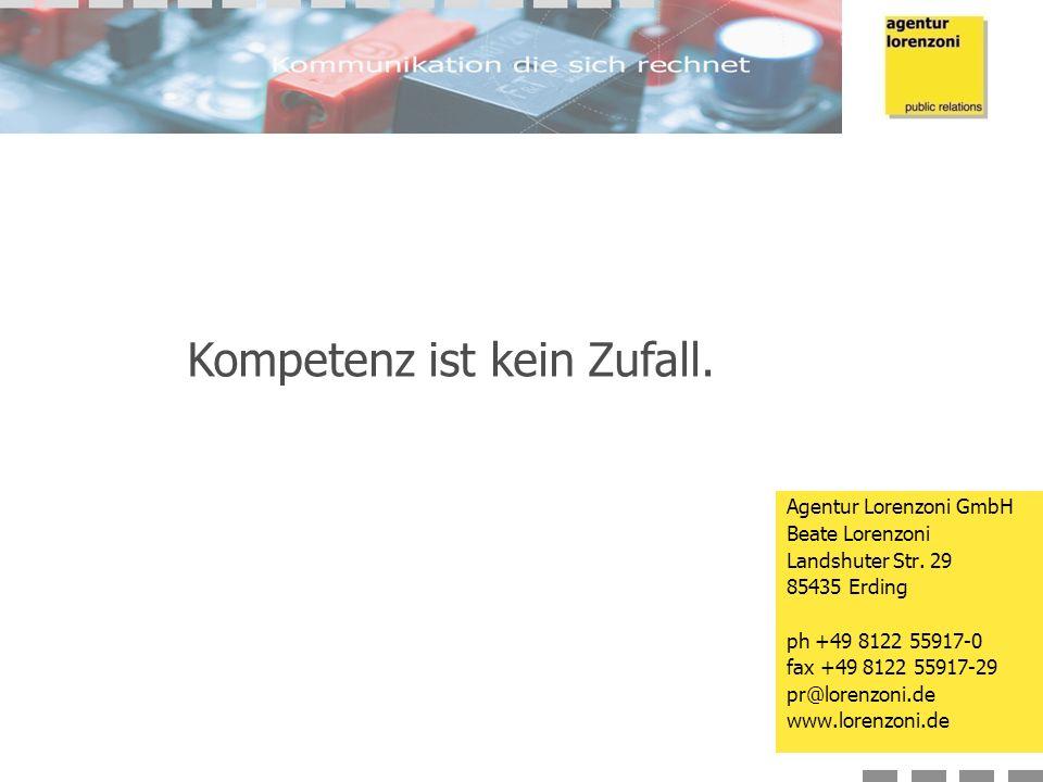 Agentur Lorenzoni GmbH Beate Lorenzoni Landshuter Str.
