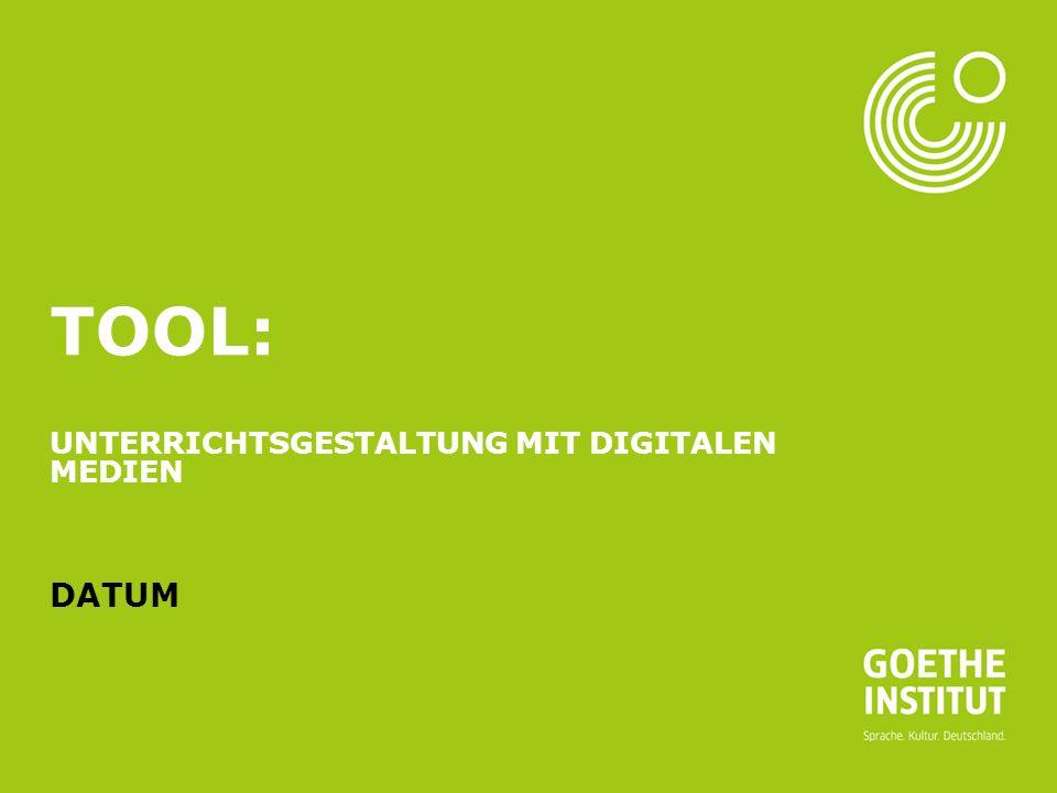 Seite 2 AGENDA 08.03.2016 Goethe-Institut Was?FragenZeit Vorstellung des Tools Welches Tool habe ich ausgewählt und warum habe ich mich für dieses Tool entschieden.