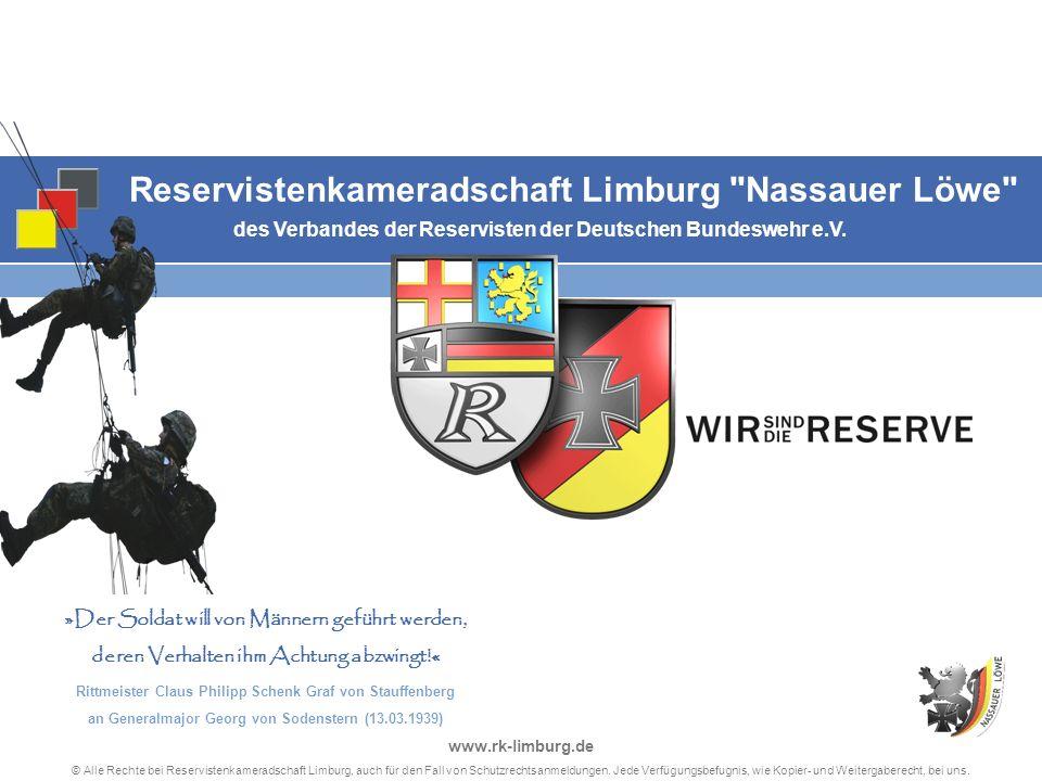 Reservistenkameradschaft Limburg Nassauer Löwe des Verbandes der Reservisten der Deutschen Bundeswehr e.V.